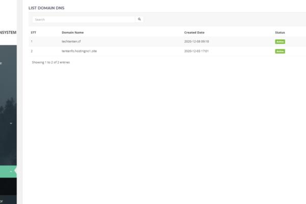 Hướng dẫn cấu hình dns đối với tên miền đang sử dụng NS của dịch vụ Fo, SecureWeb, Seolover