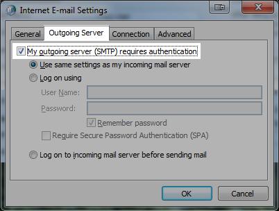 Backup dữ liệu mail lưu trên server về máy tính bằng Outlook 2007 6