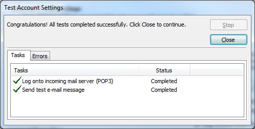 Backup dữ liệu mail lưu trên server về máy tính bằng Outlook 2007 8