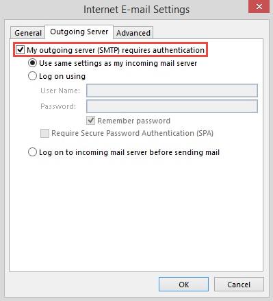 Bước 5.1 Backup dữ liệu mail lưu trên server về máy tính bằng Outlook 20132016
