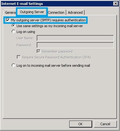Bước 6 Backup dữ liệu mail lưu trên server về máy tính bằng Outlook 2010
