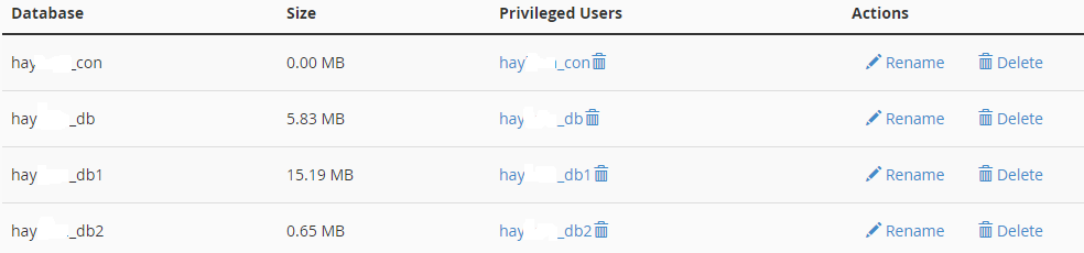 Xóa hết user database và database