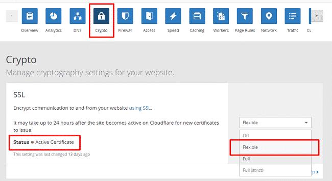 Kích hoạt SSL dể sử dụng HTTPS 2
