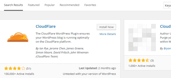 Plugin CloudFlare