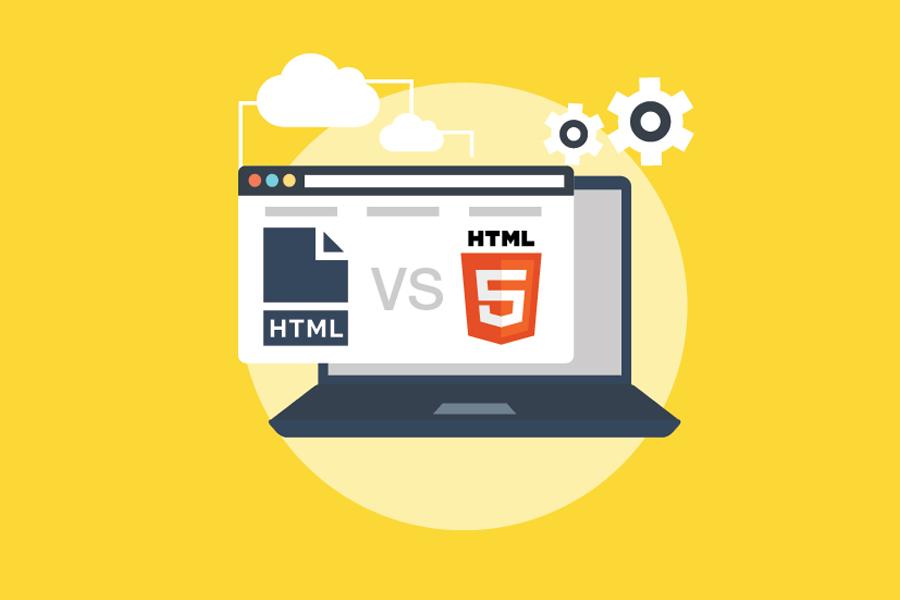 So sánh HTML và HTML5