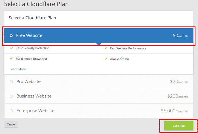 SubDomain CloudFlare 2