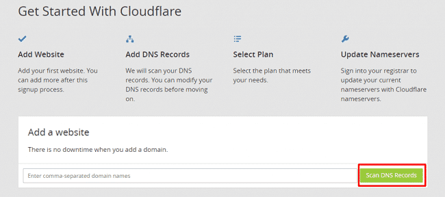 Tạo SubDomain CloudFlare