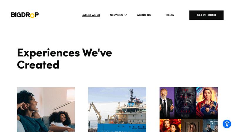 Agency Portfolio Websites