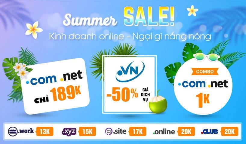 Summer Sale TENTEN