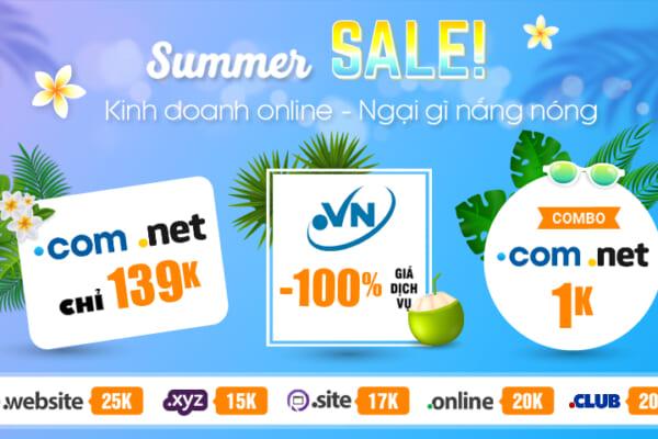 Còn 1 ngày Summer Sale   .VN chỉ từ 450k tặng ngay 50k