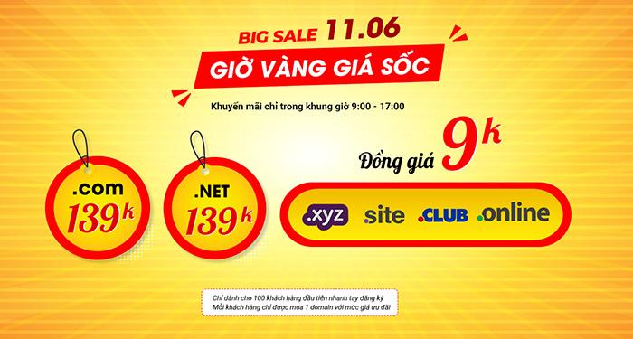 big sale 1106